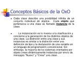 conceptos b sicos de la oxo20