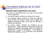 conceptos b sicos de la oxo26