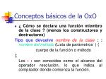 conceptos b sicos de la oxo32