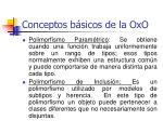 conceptos b sicos de la oxo40