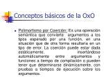 conceptos b sicos de la oxo42