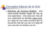 conceptos b sicos de la oxo48