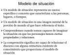 modelo de situaci n