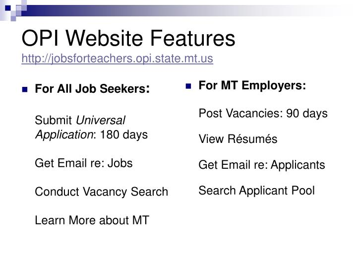 For All Job Seekers