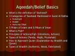 aqeedah belief basics