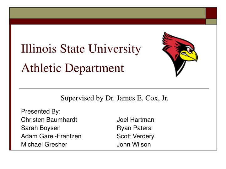 illinois state university athletic department n.