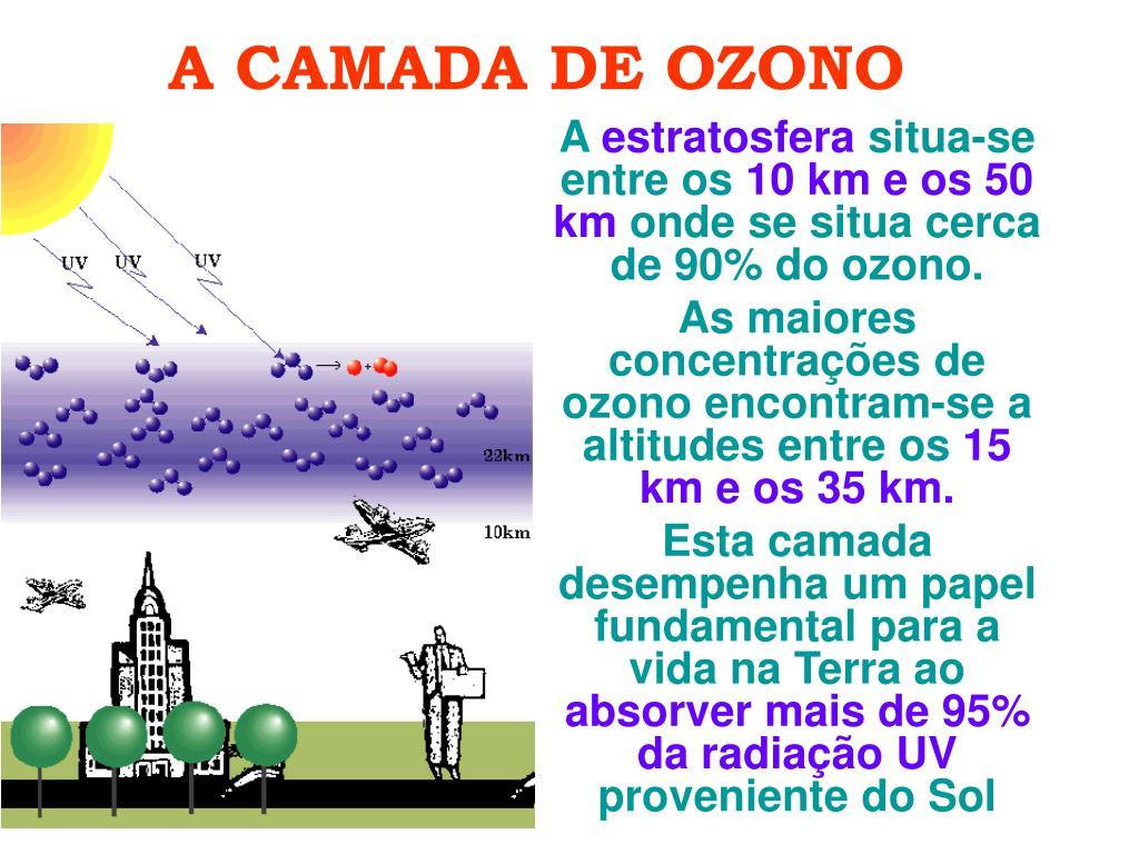 a camada de ozono l.