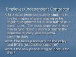 employee independent contractor10
