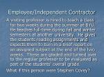 employee independent contractor4