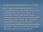 employee independent contractor6