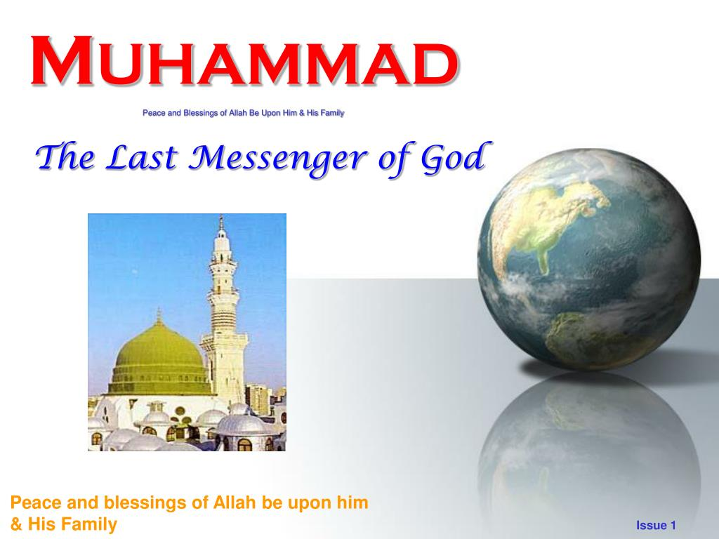m uhammad peace and blessings of allah be upon him his family l.