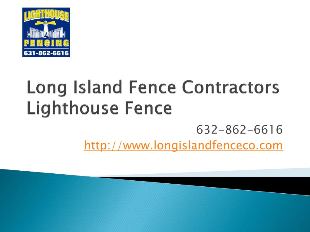 long island fence contractors lighthouse fence l.