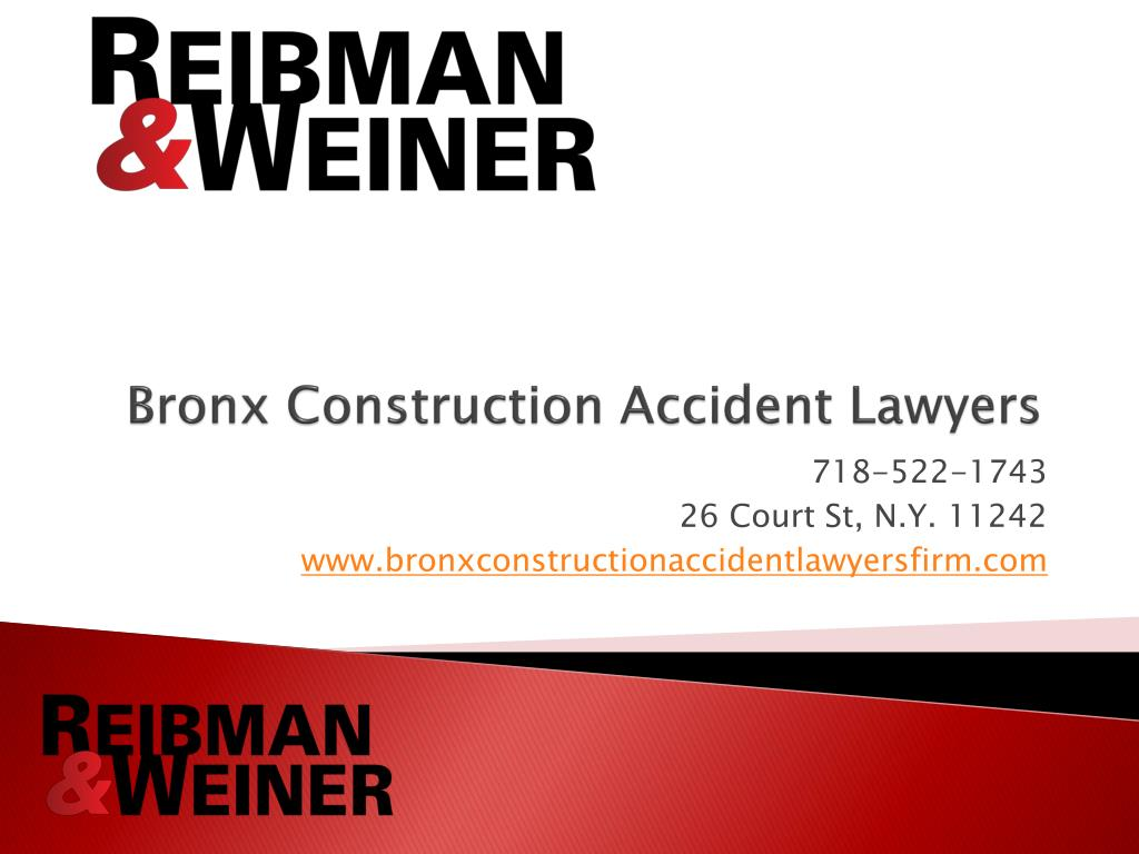 bronx construction accident lawyers l.