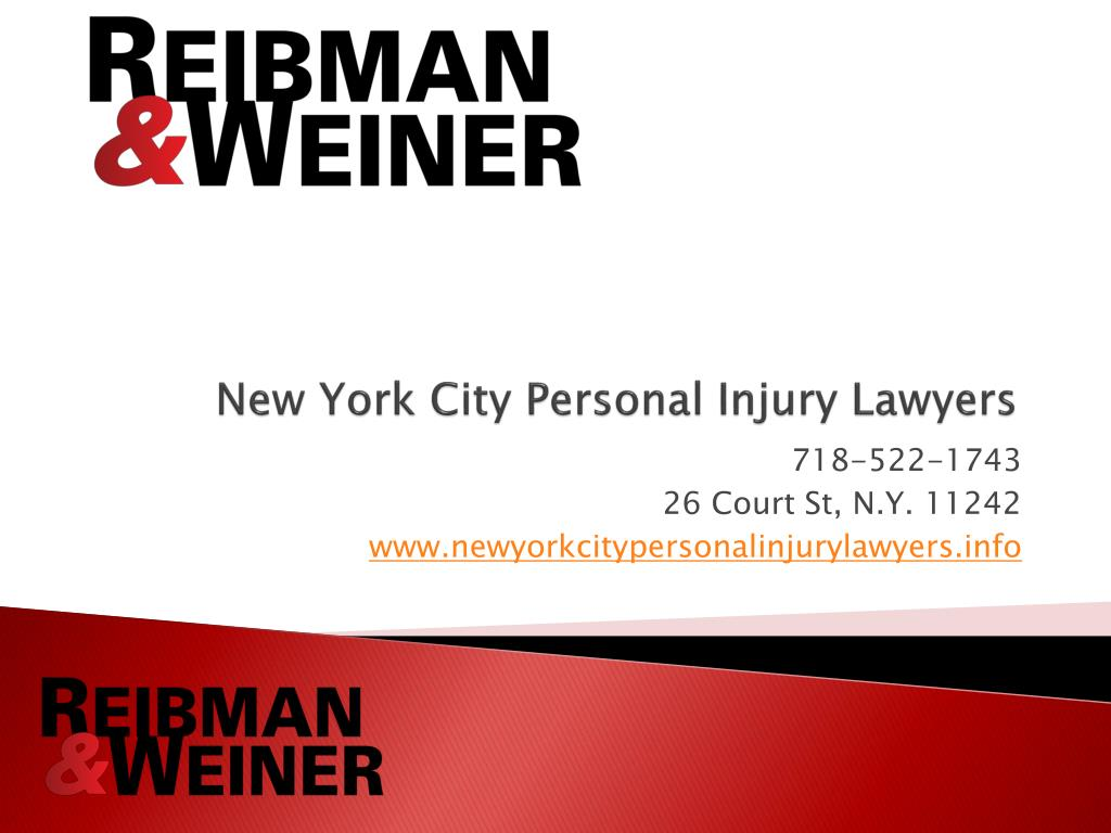 new york city personal injury lawyers l.