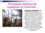 principales sistemas de vegetaci n en colombia18