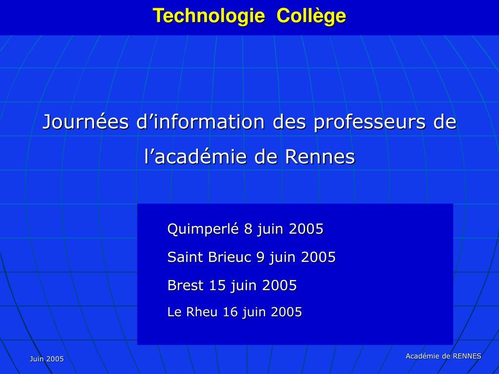 technologie coll ge l.