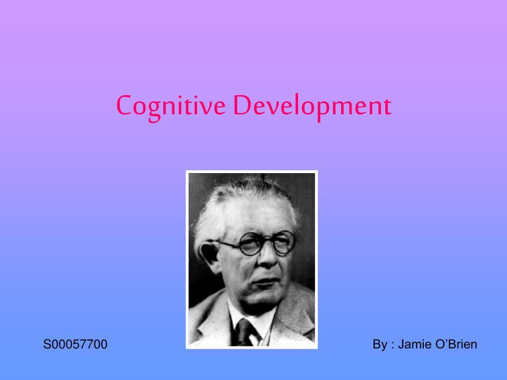 cognitive development l.
