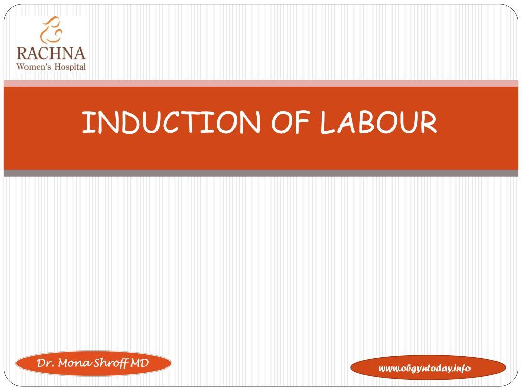 induction of labour l.