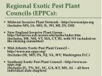 regional exotic pest plant councils eppcs