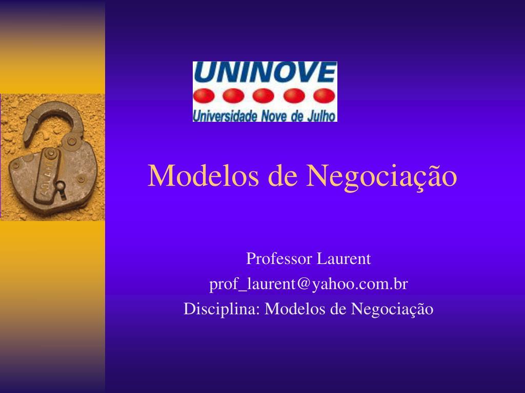 modelos de negocia o l.