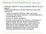 perforazioni intestinali indicazioni19