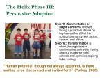 the helix phase iii persuasive adoption55