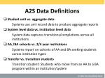a2s data definitions