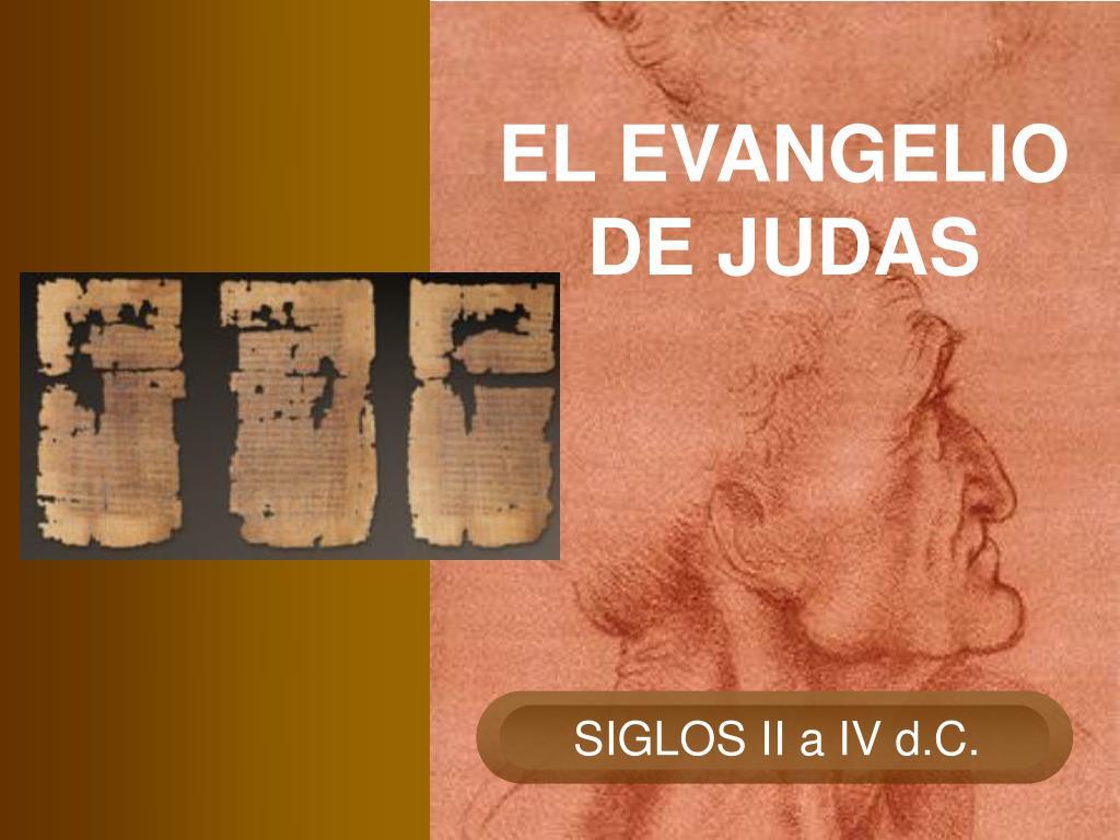 el evangelio de judas l.