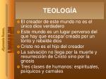 teolog a