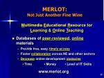 merlot not just another fine wine