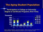 the aging student population7
