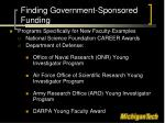 finding government sponsored funding2