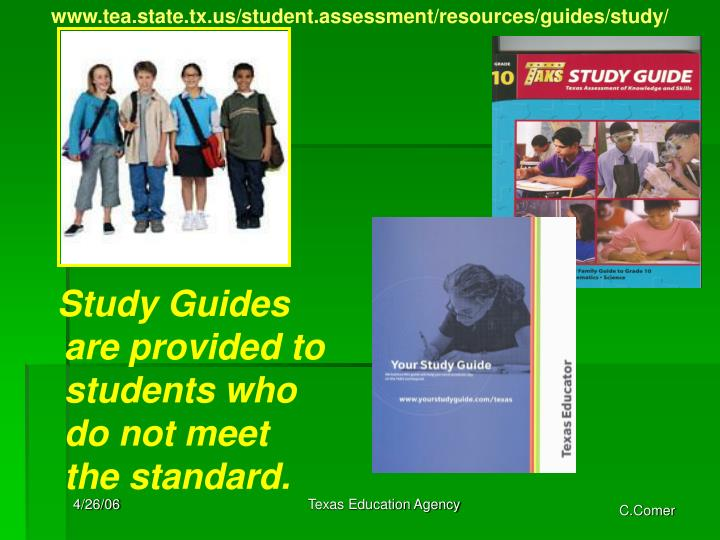 www.tea.state.tx.us/student.assessment/resources/guides/study/