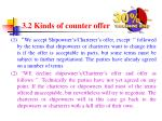 3 2 kinds of counter offer