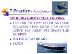 7 practice acceptance