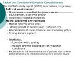 factors that contribute to ethiopia s competitiveness