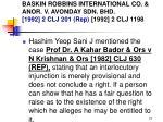 baskin robbins international co anor v avonday sdn bhd 1992 2 clj 201 rep 1992 2 clj 119822