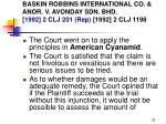 baskin robbins international co anor v avonday sdn bhd 1992 2 clj 201 rep 1992 2 clj 119823