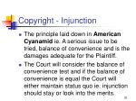 copyright injunction20