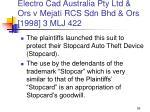 electro cad australia pty ltd ors v mejati rcs sdn bhd ors 1998 3 mlj 422