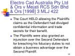 electro cad australia pty ltd ors v mejati rcs sdn bhd ors 1998 3 mlj 422100