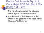 electro cad australia pty ltd ors v mejati rcs sdn bhd ors 1998 3 mlj 42260