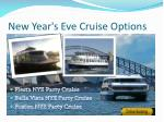new year s eve cruise options