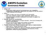 awips evolution governance model