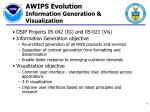 awips evolution information generation visualization