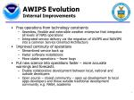 awips evolution internal improvements