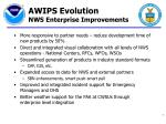 awips evolution nws enterprise improvements