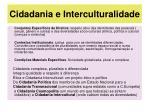 cidadania e interculturalidade