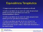 equival ncia terap utica7