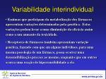 variabilidade interindividual13